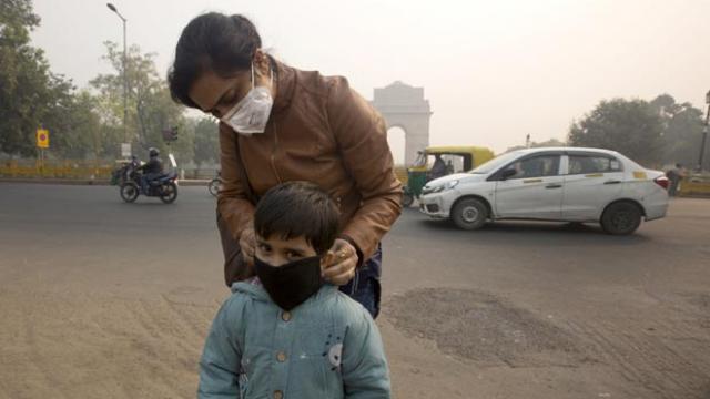 शोधकतार्ओं ने वायु प्रदूषण के लिए इमेज परिणाम